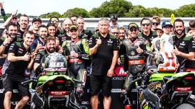 Alex Lowes, Jonathan Rea, Kawasaki Racing Team WorldSBK, Phillip Island RACE 2