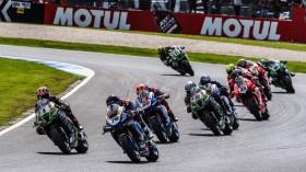 Loris Baz, Ten Kate Racing Yamaha, Phillip Island RACE 2