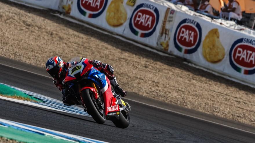 Alvaro Bautista, Team HRC, Jerez FP1