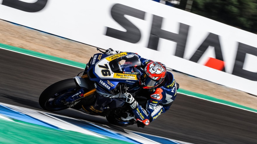 Loris Baz, Ten Kate Racing - Yamaha, Jerez FP1