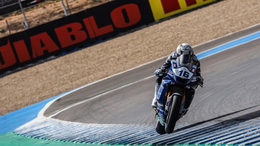 Jules Cluzel, GMT94 Yamaha, Jerez FP1