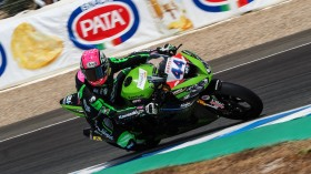 Lucas Mahias, Kawasaki Puccetti Racing, Jerez FP2