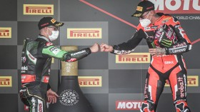 Jonathan Rea, Kawasaki Racing Team WorldSBK, Scott Redding, Aruba.it Racing - Ducati, Jerez RACE 1
