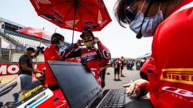 Alvaro Bautista, Team HRC, Jerez RACE 1