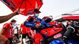 Leon Haslam, Team HRC, Jerez RACE 1