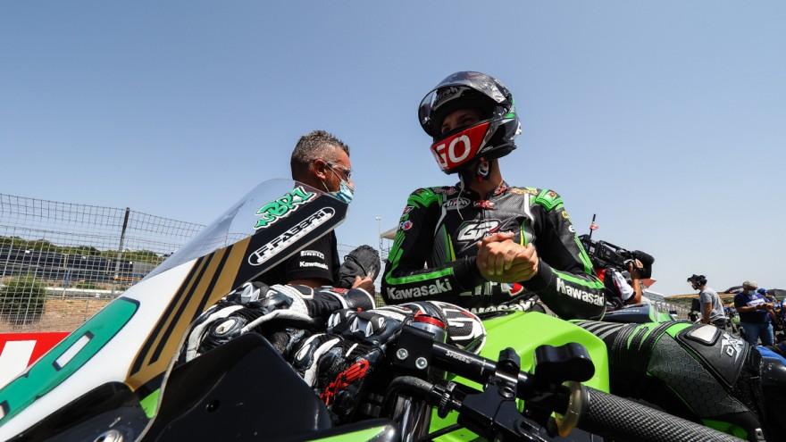 Bruno Ieraci, Kawasaki GP Project, Jerez RACE 1