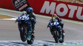 Corentin Perolari, GMT94 Yamaha, Steven Odendaal, EAB Ten Kate Racing, Jerez RACE 1