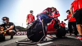 Alvaro Bautista, Team HRC, Jerez Tissot Superpole RACE