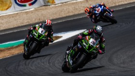 Jonathan Rea, Alex Lowes, Kawasaki Racing Team WorldSBK, Jerez RACE 2