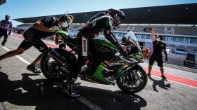 Alex Lowes, Kawasaki Racing Team WorldSBK, Portimao FP2