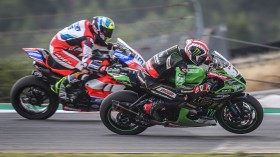 Jonathan Rea, Kawasaki Racing Team WorldSBK, Leandro Mercado, Motocorsa Racing, Portimao FP2