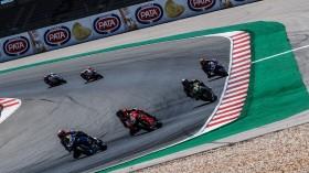 Loris Baz, Ten Kate Racing Yamaha, Scott Redding, Aruba.it Racing - Ducati, Portimao RACE 1