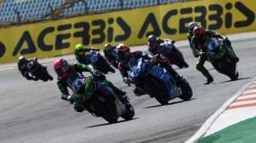 Lucas Mahias, Kawasaki Pucceti Racing, Portimao RACE 1