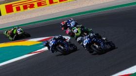 Jules Cluzel, Corentin Perolari, GMT94 Yamaha, Portimao RACE 1
