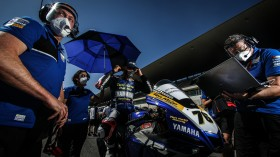 Loris Baz, Ten Kate Racing - Yamaha, Portimao Tissot Superpole RACE