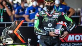 Jonathan Rea, Kawasaki Racing Team WorldSBK, Portimao Tissot Superpole RACE