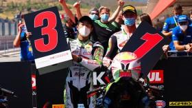 Scott Deroue, MTM Kawasaki MOTOPORT, Yuta Okaya, MTM Kawasaki MOTOPORT, Portimao RACE 2
