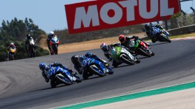 Bahattin Sofuoglu, Biblion Motoxracing Yamaha WSSP300, Portimao RACE 2