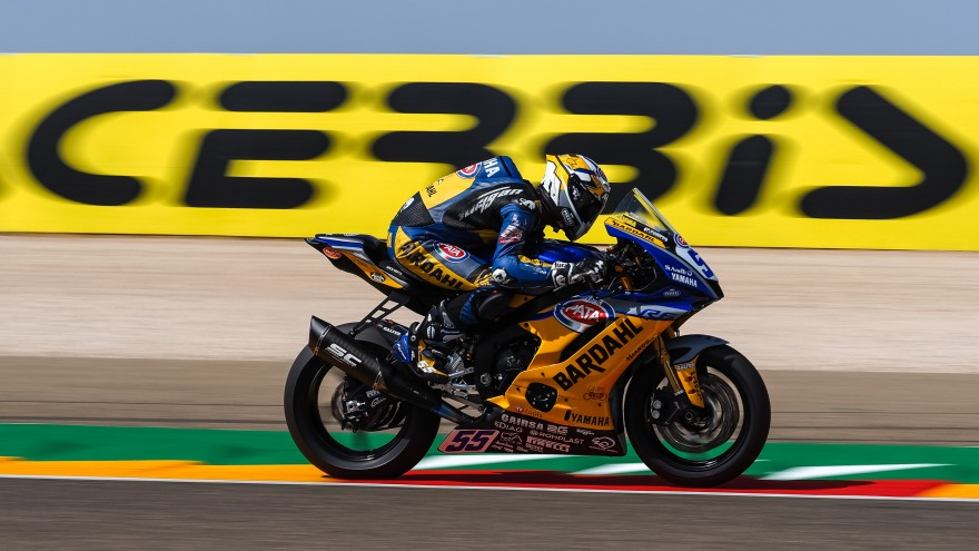 Andrea Locatelli, BARDAHL Evan Bros. WorldSSP Team,Aragon FP1