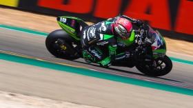 Lucas Mahias, Kawasaki Puccetti Racing, Aragon FP2