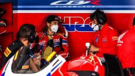 Alvaro Bautista, Team HRC, Aragon Tissot Superpole