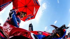 Alvaro Bautista, Team HRC, Aragon RACE 1