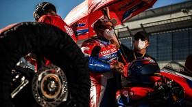 Leon Haslam, Team HRC, Aragon Tissot Superpole RACE