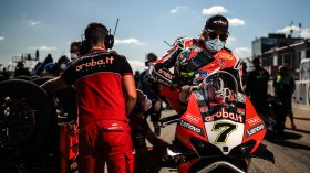 Chaz Davies, Scott Redding, Aruba.it Racing - Ducati, Aragon Tissot Superpole RACE
