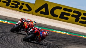 Chaz Davies, Aruba.it Racing - Ducati, Alvaro Bautista, Team HRC, Aragon RACE 2