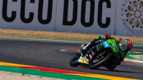 Ana Carrasco, Kawasaki Provec WorldSSP300, Aragon RACE 2