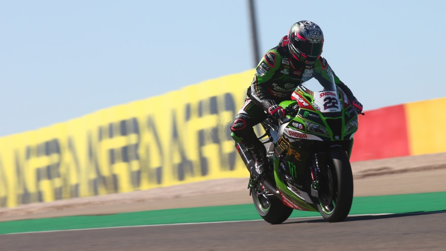 Alex Lowes, Kawasaki Racing Team WorldSBK, Teruel FP1