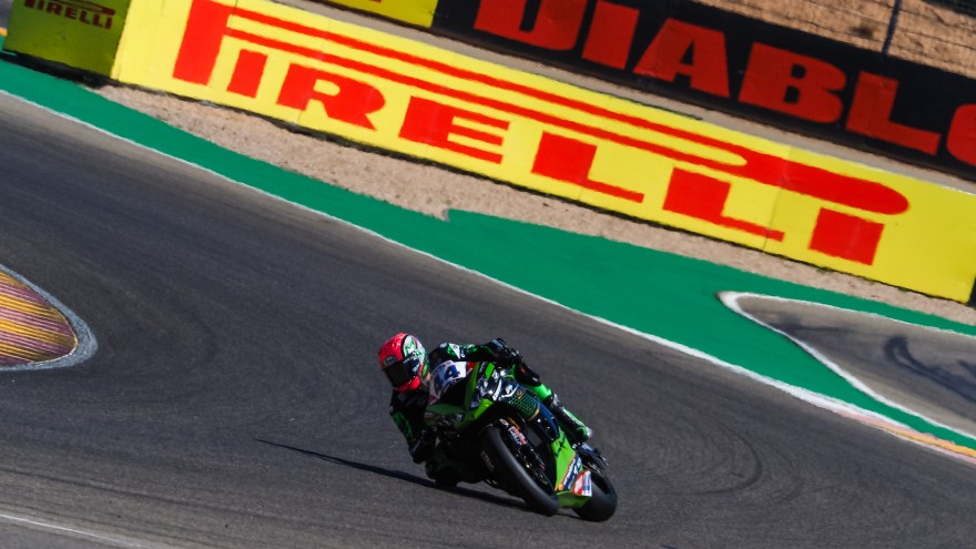 Lucas Mahias, Kawasaki Pucceti Racing, Teruel FP2