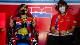 Alvaro Bautista, Team HRC, Teruel Tissot Superpole