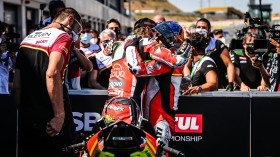 Chaz Davies, Aruba.it Racing - Ducati, Michael Ruben Rinaldi, Team GOELEVEN, Teruel RACE 1