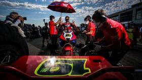 Alvaro Bautista, Team HRC, Teruel Tissot Superpole RACE