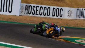 Andrea Locatelli, BARDAHL Evan Bros. WorldSSP Team, Lucas Mahias, Kawasaki Puccetti Racing, Teruel RACE 2