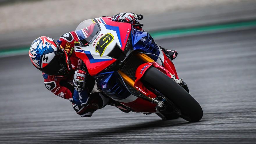 Alvaro Bautista, Team HRC, Catalunya FP1