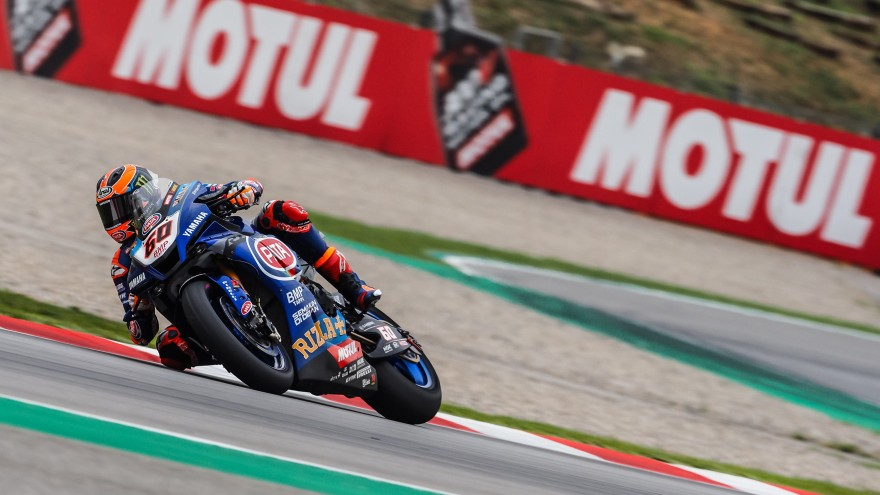 Michael van der Mark, Pata Yamaha Official WorldSBK Team, Catalunya FP1