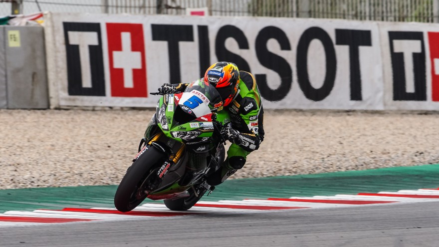 Phillipp Oettl, Kawasaki Pucetti Racing, Catalunya FP1