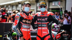 Chaz Davies, Scott Redding, Aruba.it Racing - Ducati, Catalunya RACE 1