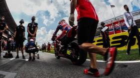Alvaro Bautista, Team HRC, Catalunya RACE 1