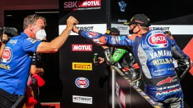 Michael van der Mark, Pata Yamaha WorldSBK Official Team, Catalunya Tissot Superpole RACE