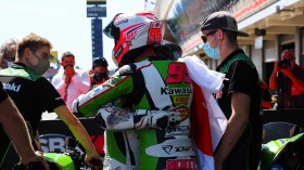Yuta Okaya, Scott Deroue, MTM Kawasaki MOTOPORT, Catalunya RACE 2