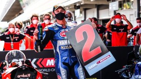 Michael van der Mark, Pata Yamaha WorldSBK Official Team, Catalunya RACE 2