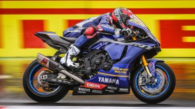 Loris Baz, Ten Kate Racing Yamaha, Magny-Cours FP2