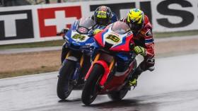 Federico Caricasulo, GRT Yamaha WorldSBK Junior Team, Alvaro Bautista, Team HRC, Magny-Cours FP2