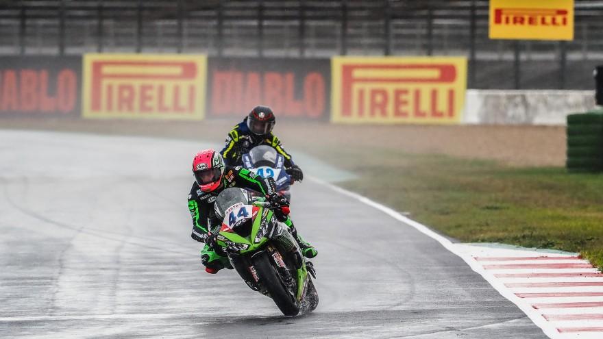 Lucas Mahias, Kawasaki Puccetti Racing, Magny-Cours FP1