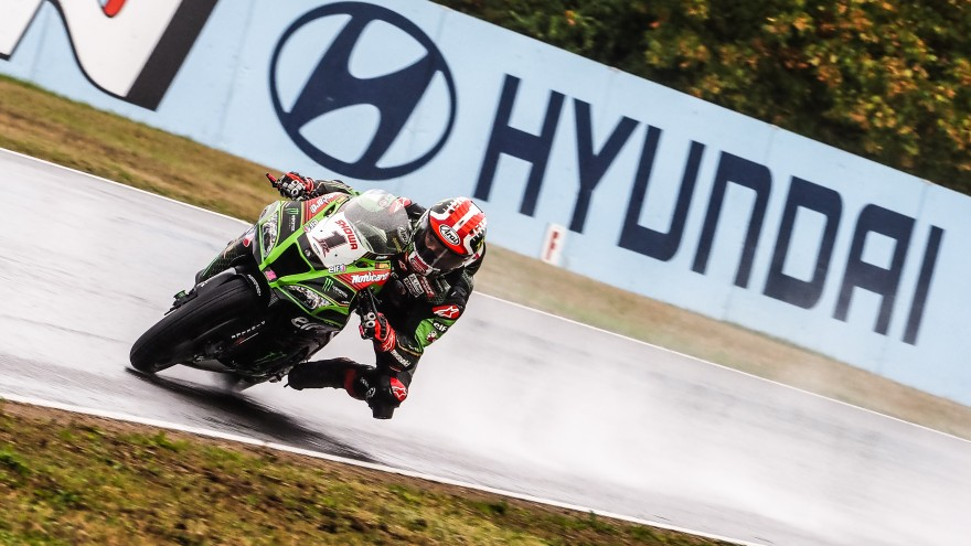 Jonathan Rea, Kawasaki Racing Team WorldSBK, Magny-Cours FP2
