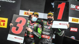 Jonathan Rea, Alex Lowes, Kawasaki Racing Team WorldSBK, Magny-Cours RACE 1