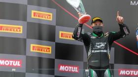 Lucas Mahias, Kawasaki Puccetti Racing, Magny-Cours RACE 1